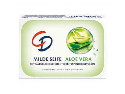 CD Jemné mýdlo s ALOE VERA pro citlivou pokožku 125g