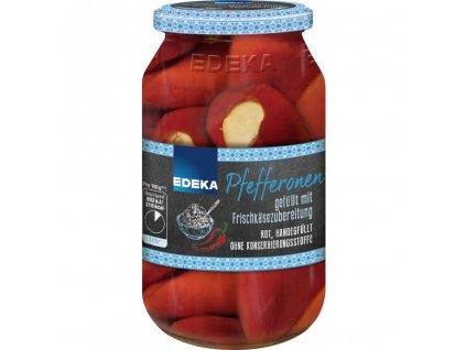 Edeka Feferonky plněné čerstvým sýrem 270 g