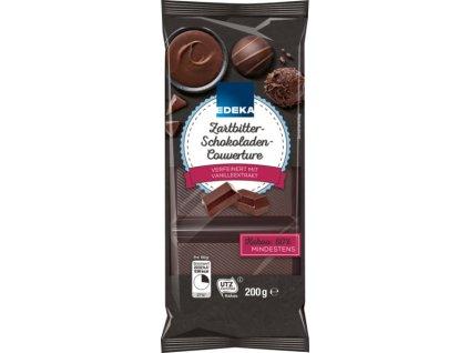Edeka Jemně hořká čokoláda na vaření s 55% kakaa 200g