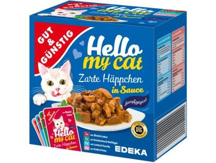 G&G Kapsičky pro kočky v omáčce 8 ks, 800g