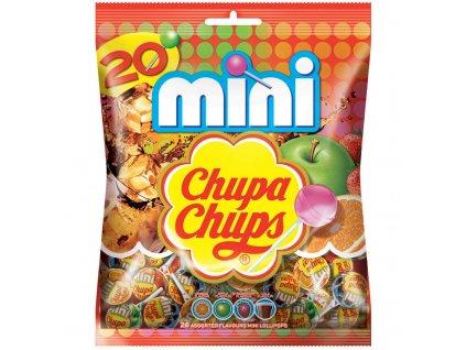 Chupa Chups Mini směs lízátek 20ks, 120g